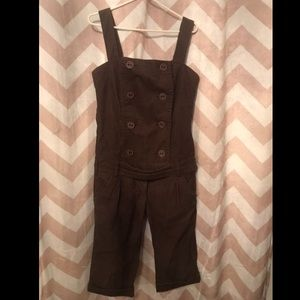 Size 29 button up corduroy overalls